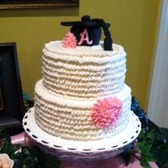 Abbie's college graduation cake by Shelia