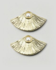 The Oyster Earrings by JewelMint.com, $29.99