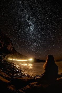 Punakaiki, New Zealand. Have you ever seen a more beautiful night sky setting? Truly incredible.