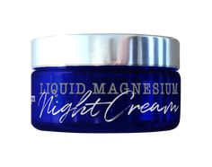 All natural magnesium based night cream can be used body wide for application of dry skin, sore, tired or cramping muscles and stress.  Best used before bed, our lavender scented cream is designed to help generate a deep sleep whilst rejuvenating the skin with Vitamin E and magnesium.  Magnesium is known to increase  - blood flow, oxygen levels - increase cellular production whilst reducing inflammation and puffiness.  Non toxic, non staining Liquid Magnesium, Magnesium Spray, Natural Body Wash, Lavender Scent, Our Body, Vitamin E, Lotion, The Cure, Essential Oils