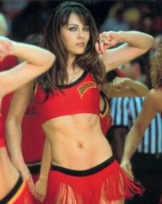 Liz Hurley.  Man, she plays a great devil!