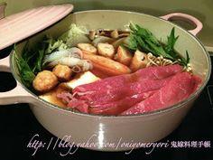 鬼嫁料理手帳: 聖誕派對好煮意 ﹣ 火鍋篇 Chinese Food, Japanese Food, Hot Pot, Beef, Meals, Chicken, Le Creuset, Recipes, Cooking
