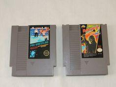 #Nintendo #NES #VideoGames #Fridaythe13th #ProWrestling #Vintage #VintageVideoGames