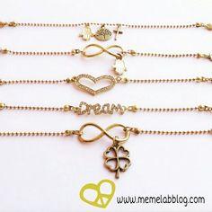 Il buongiorno di oggi è  Con la nuova collezione bracciali  www.memelabblog.com