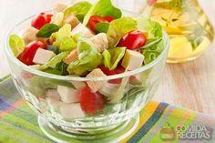 Receita de Salada de folhas verdes especial em receitas de saladas, veja essa e outras receitas aqui!