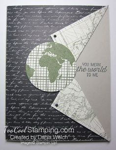 Two Cool Going Global Masculine Cards