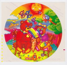 Lisa Frank stickers...I had this one, by the way.