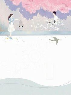 Couple Illustration, Illustration Art, Wattpad Cover Template, Wattpad Background, Wattpad Book Covers, Cute Love Stories, Anime Muslim, Image Cover, Beautiful Nature Wallpaper