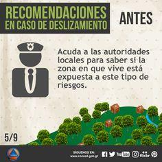 Consulte con autoridades locales si su comunidad está expuesta a deslizamientos.