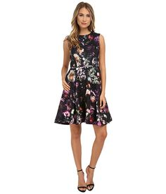 9327cdbba76206 Ted Baker High Neck Shadow Flora Dress Flora Dress