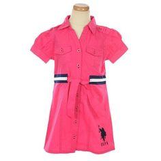 "U.S. Polo Assn. ""Gosnold"" Dress (Sizes 7 - 16) $16.99"