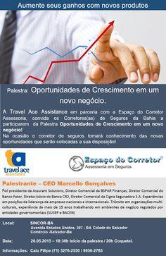"""""""Oportunidades de Crescimento em um novo negócio!"""" Participe!"""