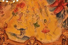 Curiosidades sobre o teto da Ópera Garnier em Paris, por Marc Chagall (com vídeo)