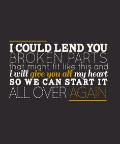 Over Again - One Direction