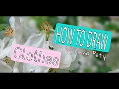 How to draw clothes. Drawing Clothes, More Fun, Make It Yourself, Drawings, Creative, Youtube, Sketch, Portrait, Drawing