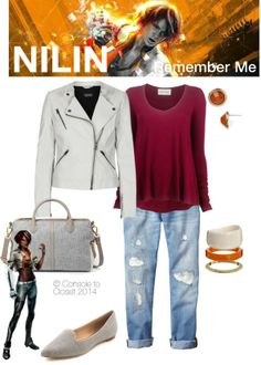 Inspired by Nilin from Remember Me (via Console to Closet) #GeekFashion