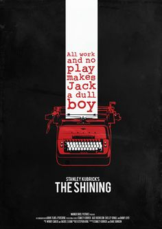 """""""The Shining"""" - A family heads to an isolated hotel for the winter where an evil and spiritual presence influences the father into violence, while his psychic son sees horrific forebodings from the past and of the future. Photo and info credit: IMDb."""