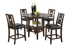logan counter height dining room table and barstools set of 5 download