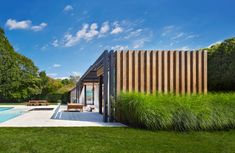 Amagansett Pool House by ICRAVE