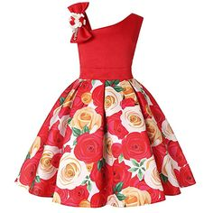 01de97964525 Price:$12.98 - $19.98 Amazon.com: LLQKJOH Girl Dress Kids Ruffles Lace Party