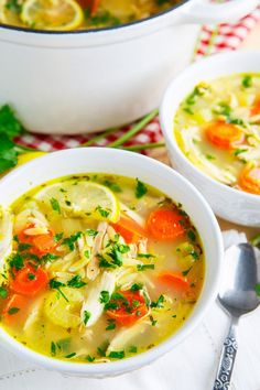 about GREEK - SOUP on Pinterest | Authentic greek recipes, Orzo soup ...
