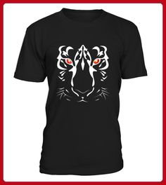 Tiger Face with Red Eyes TShirt - Tiger shirts (*Partner-Link)