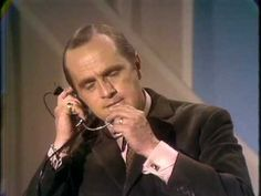 Bob Newhart air traffic controller, on The Smothers' Brothers show