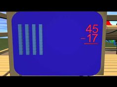 Subtraction with Regrouping - YouTube. Great illustration for kids on what regrouping looks like