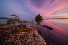 Engozero lake, North Karelia, Russia
