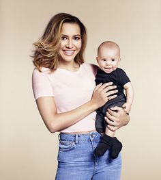 Naya Rivera holding her son Josey