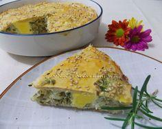 Torta Pasqualina - Na Biroskinha