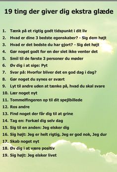 Danish Language, Positive Living, Pep Talks, Life Inspiration, I Am Happy, Self Love, Wise Words, Favorite Quotes, Psychology