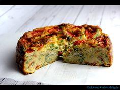 Wytrawne ciasto serowe,   czyli danie , które idealne sprawdzi się  na przyjęciu , jak i na obiad czy kolacje.         Wytrawne ciasto ser...