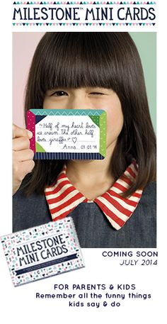 Perfect gift for parents and small kids - The original from Milestone™ cards