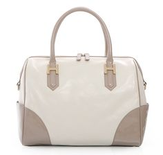 heys handbags soho large satchel in bone ~ classy looking handbag