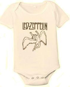 Led Zeppelin Organic One-piece Baby Shirt/Bodysuit (0-3 Months) Born Cool Baby http://www.amazon.com/dp/B00JAPUBBO/ref=cm_sw_r_pi_dp_Abe8tb002VZ8P