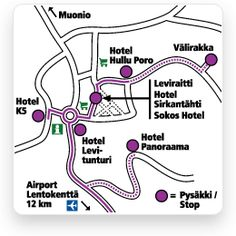 Tunturilinjat - Levi Airport Bus Arriving Flights
