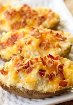 These Twice Baked Potatoes look so good.