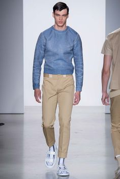 Calvin Klein Collection Spring 2016 Menswear Fashion Show