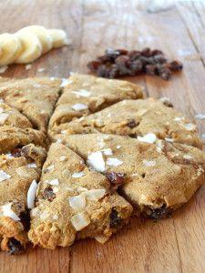 Sweet Potato Raisin AIP Scones | Cook It Up Paleo