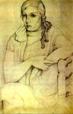 Dali, Portrait of Maria Carbona, 1925