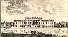 Wanstead House, as built, illustrated in Nathaniel Spencer, The Complete English traveller, London 1771