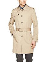 ESPRIT Collection Coat for Men Teen Fashion, Fashion Shoes, Womens Fashion, Trench Coat Men, Pique Polo Shirt, Oakley, Beige, Jackets, Shirts