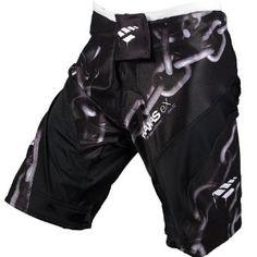 8486773760 PunchTown Frakas eX Chainz Fight Shorts 32