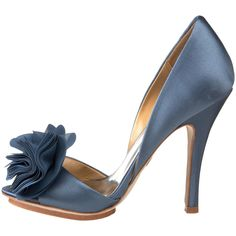 """These are adorable, and would be great for a wedding """"something blue."""" I would wear them post-wedding too!"""