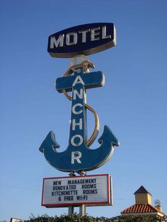 Motel Anchor,... Harry Hines Blvd.... Dallas Texas.