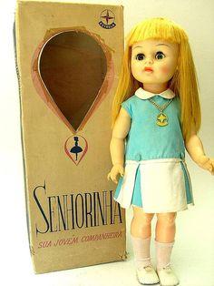 Boneca Senhorinha - Estrela - 60's