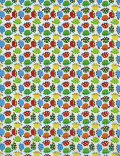 Fabric by The Yard Timeless Treasures 100 Cotton Mini Turtles Multi Color | eBay