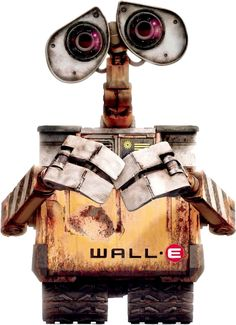 Wall-E is very similar to Owl eys in such ways. Wall-E has those big eyes like a owl and he romes around in a land where there is no one else and its all trash and desolite.