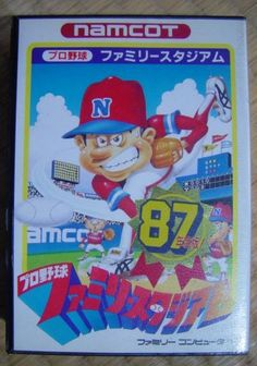 #Famicom :  Family Stadium 87 http://www.japanstuff.biz/ CLICK THE FOLLOWING LINK TO BUY IT ( IF STILL AVAILABLE ) http://www.delcampe.net/page/item/id,0368617292,language,E.html